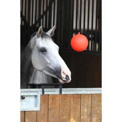 Ballon d'écurie équitation rouge