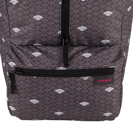 55 L folding Duffle bag - cloud grey