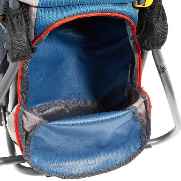 Mochila Portabebés Senderismo Deuter Kid Confort Lite Gris/Azul Ligera