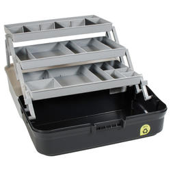 Opbergbox hengelsport 3 plateaus
