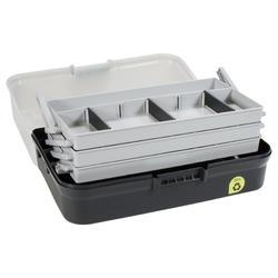3-tray fishing box