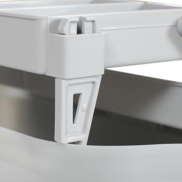 Angelkasten, Kiste mit 3 Fächer
