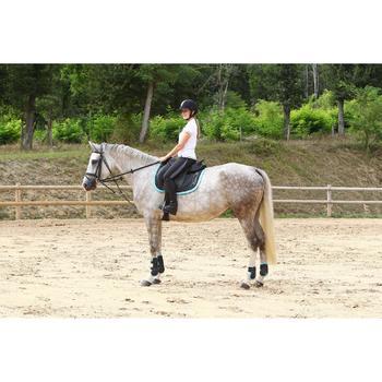 Gogue equitación caballo y poni SCHOOLING marrón