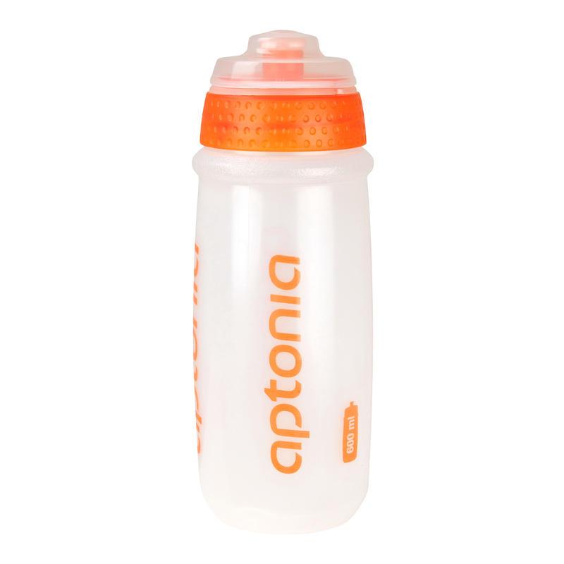Botella sport naranja 600 ml