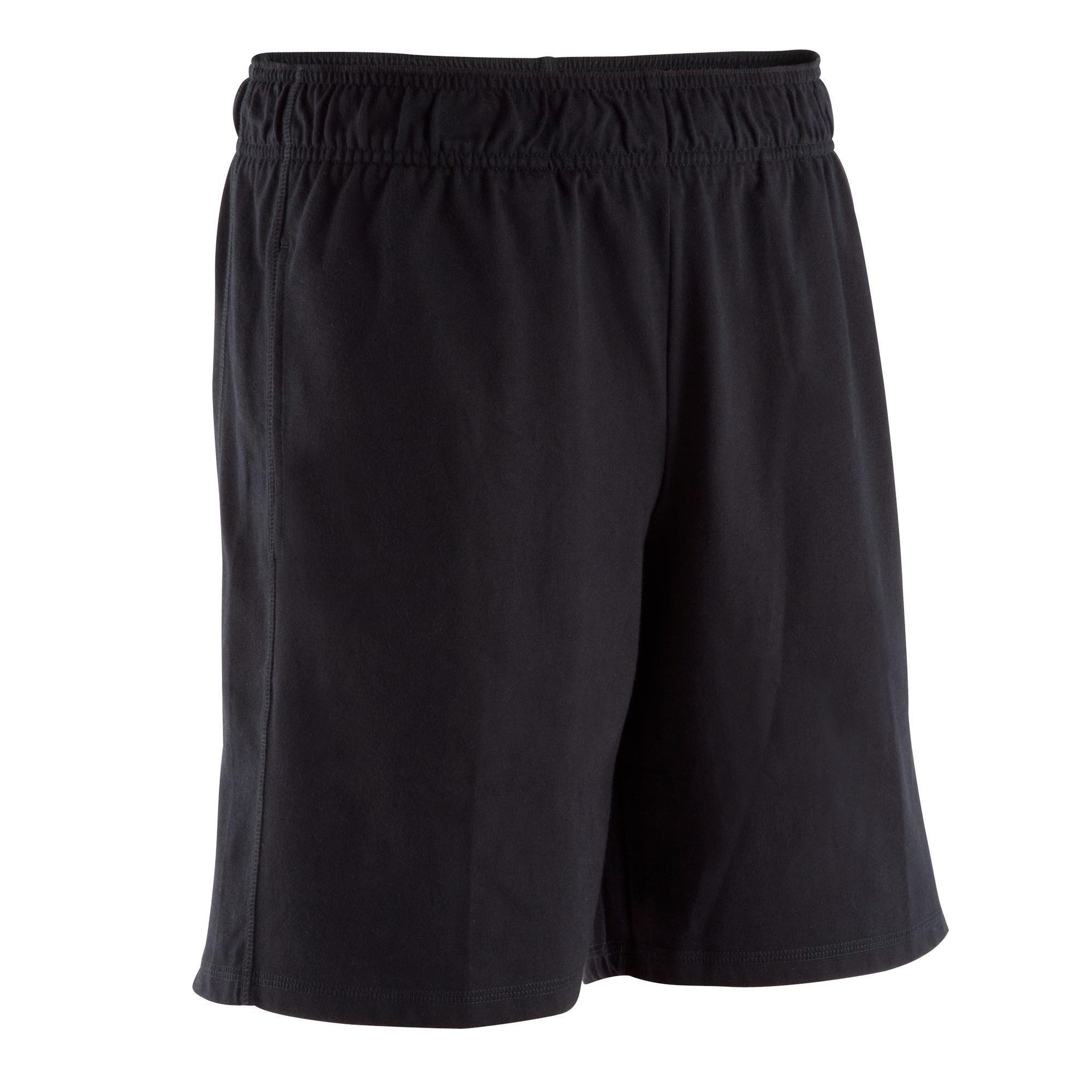 remise spéciale de différents types de aperçu de Vêtements homme - Short fitness Active homme noir