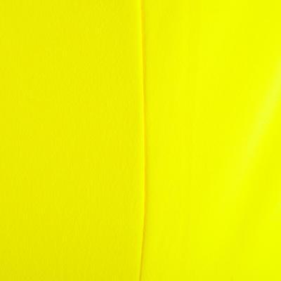 تيشيرت 100 My Top بدون أكمام للسيدات لتمارين الكارديو – أصفر نيون