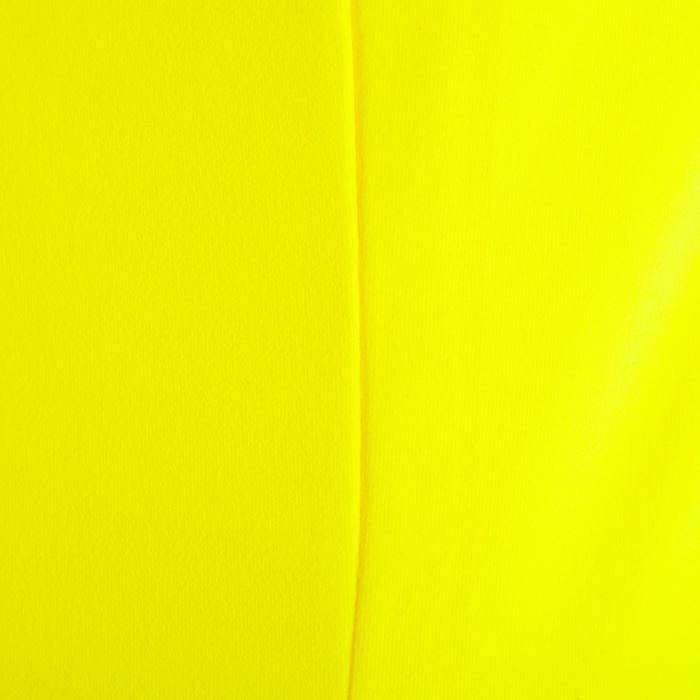 Débardeur MY TOP fitness cardio-training femme jaune fluo 100