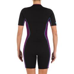 Dames shorty 100 voor snorkelen - 33869