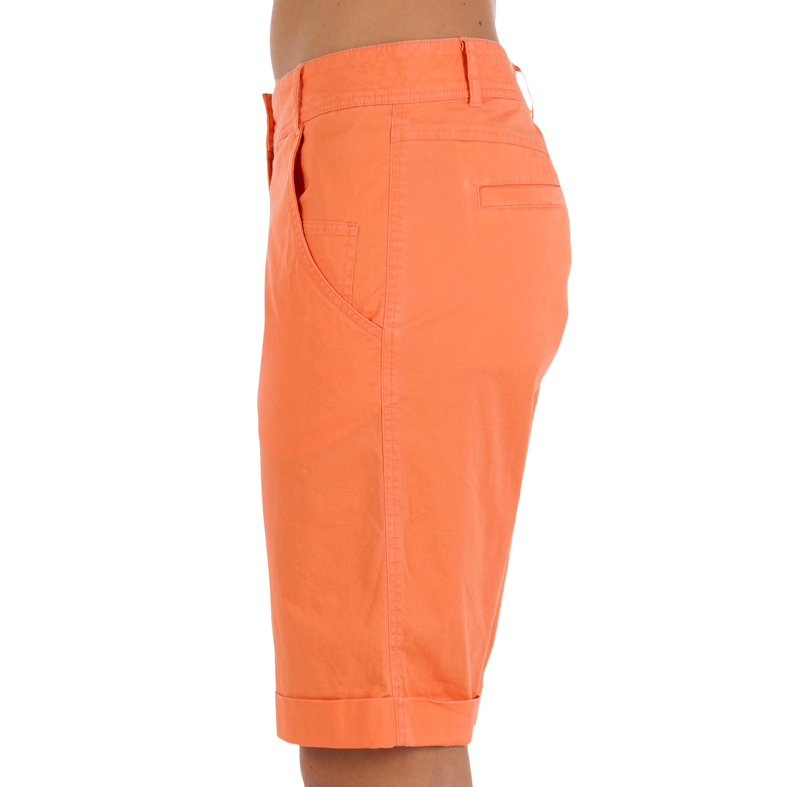 Bermuda Orange Femme Corail Anti Upf 40 Uv zMUqVSGp