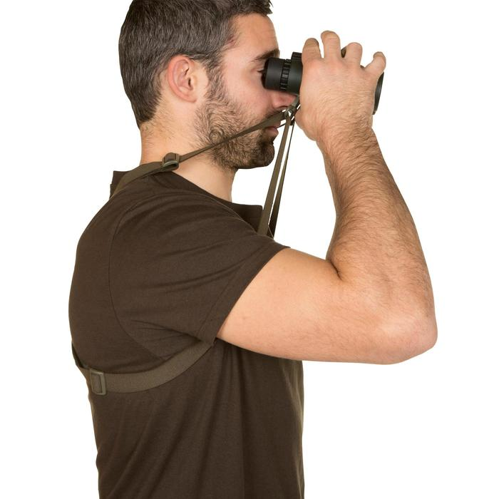 ELASTIC HARNESS FOR CARRYING BINOCULARS