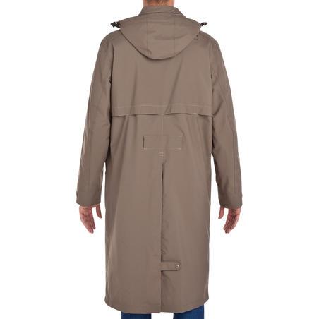 Sentier Adult Horse Riding Raincoat - Brown