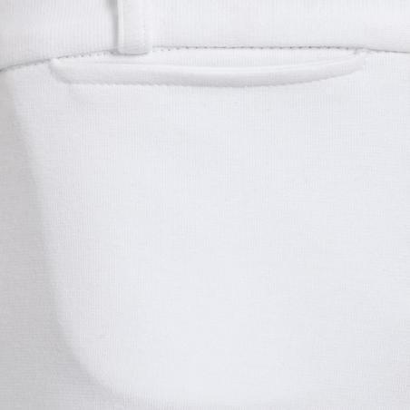 100 vaikiškos varžyboms skirtos jodinėjimo kelnės – baltos