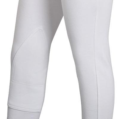 Breeches para concurso de equitación niño SCHOOLING blanco