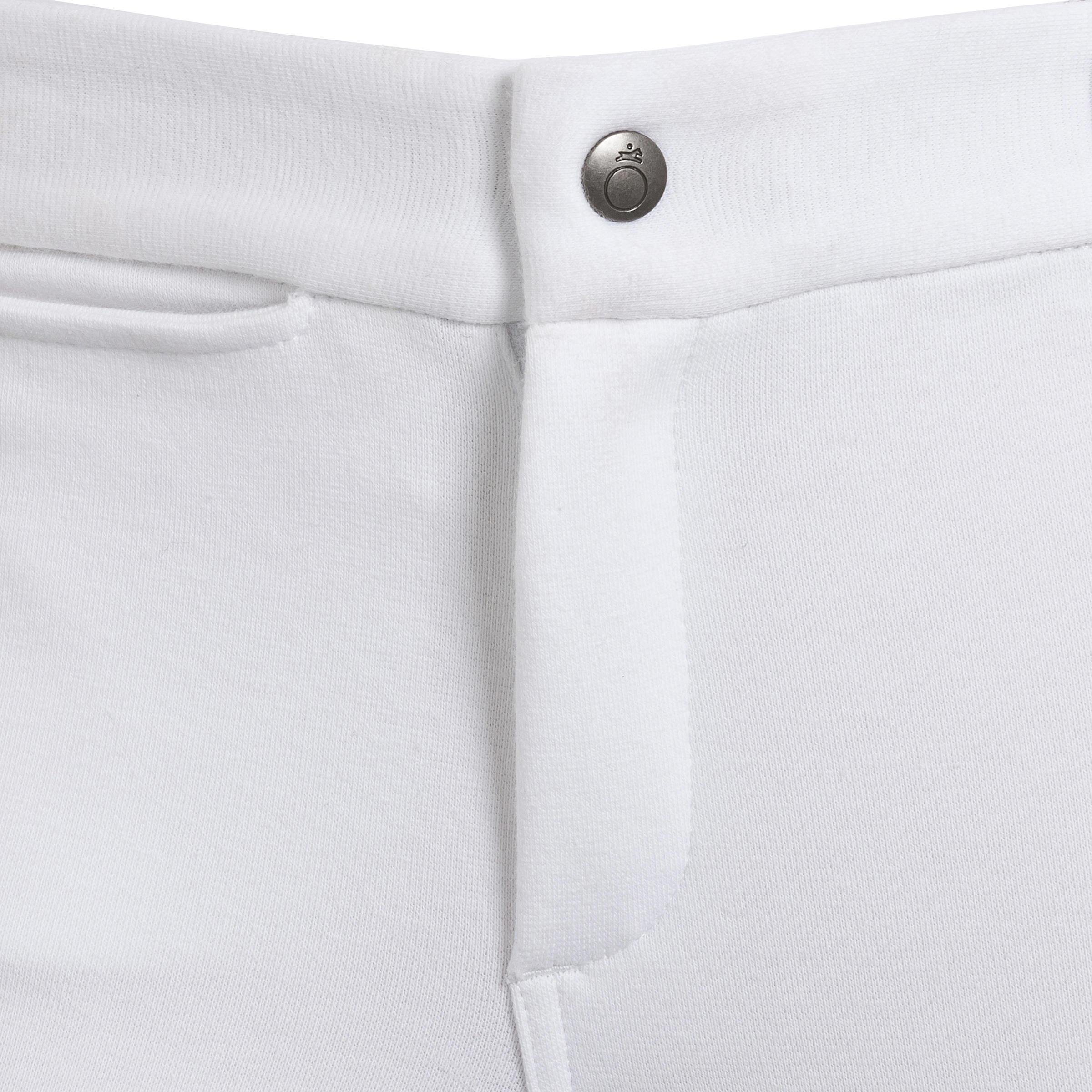 Pantalon Concours équitation enfant BR100 blanc