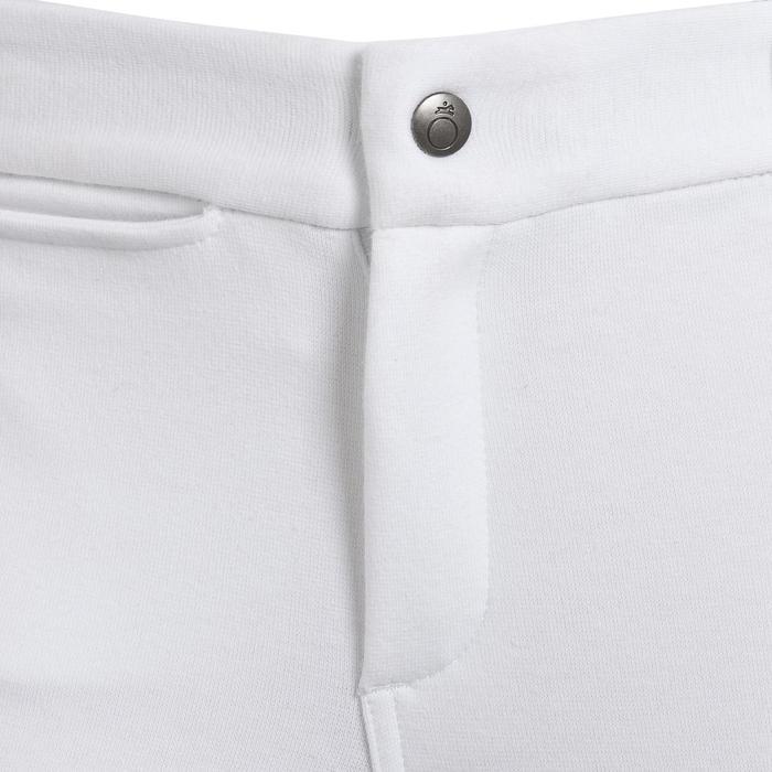 Pantalón equitación concurso niños BR100 blanco