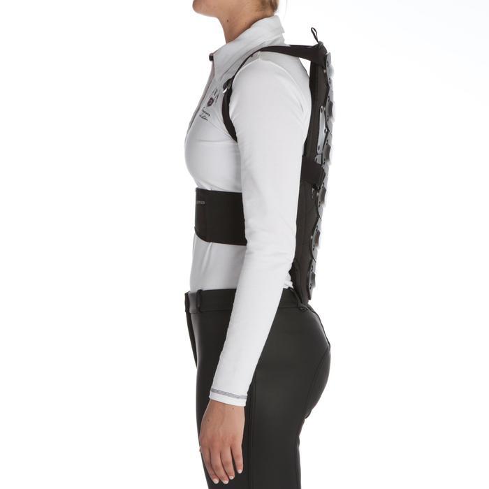 Protection dorsale équitation enfant et adulte SAFETY noir - 339059
