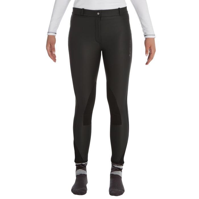 Pantalon chaud imperméable équitation enfant KIPWARM - 339261