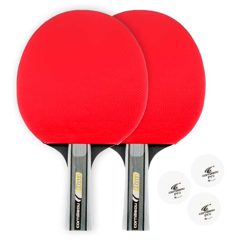 FREE RACKETS - Table Tennis Bat Double Pack CORNILLEAU