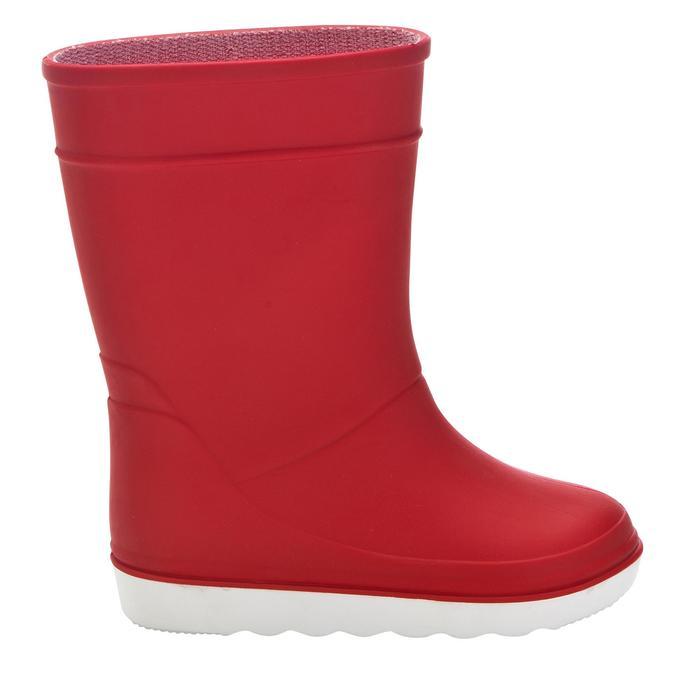 Zeillaarzen voor kinderen B100 rood