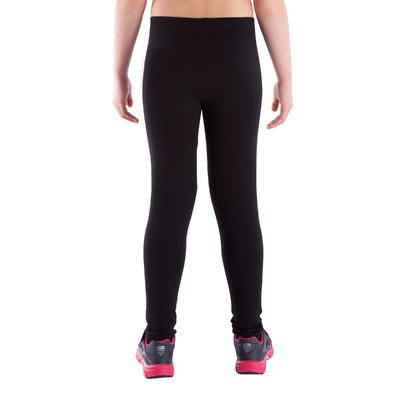 Legging fitness fille noir