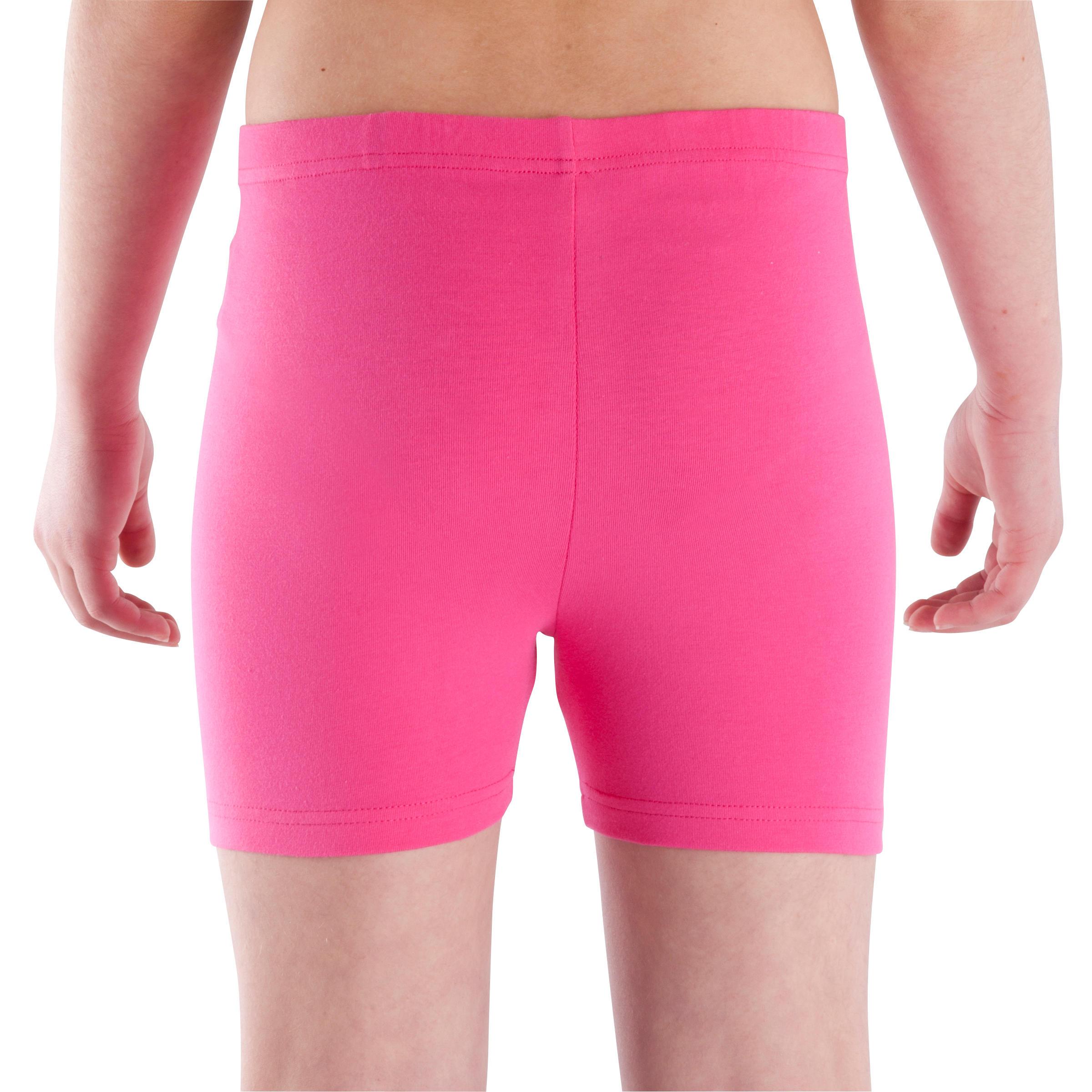 Girls' Gym Shorts - Pink