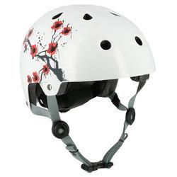 Helm Play 7 voor skeeleren, skateboarden, steppen, fietsen maat M Sakura