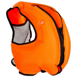 Adult Snorkelling buoyancy vest - Orange