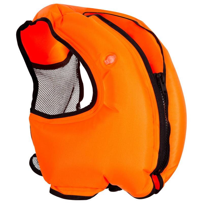 Adult Snorkelling buoyancy vest - Orange