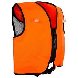 成人浮潛浮力背心- 橘色。