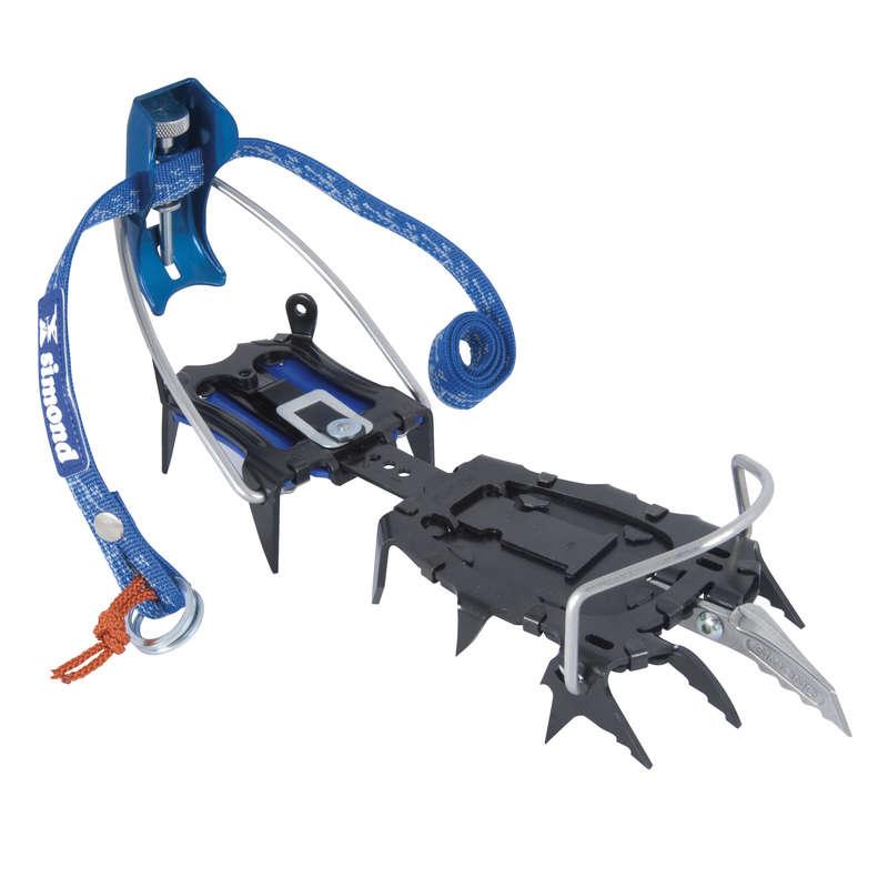 Jégcsákány, hágóvas Sziklamászás, alpinizmus - Automata hágóvas Monoceros SIMOND - Hegymászó felszerelés