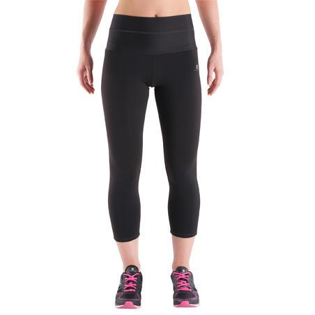 Shape+ Women's Fitness Flat-Stomach 7/8 Leggings - Black