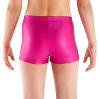 Girls' Glitter Gym Shorty - Pink