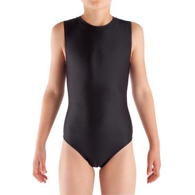 Trusa manga sisa gimnasia niña (GAF y GR) negro