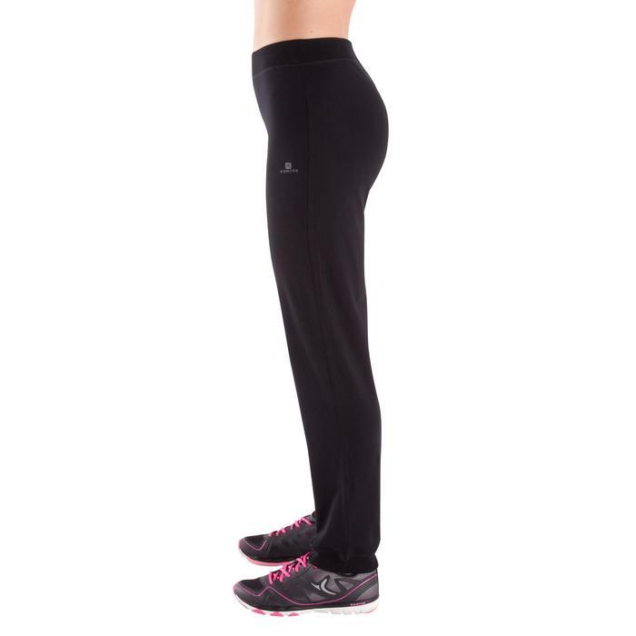 Pantalon bas resserré FIT+ regular, fitness femme - 342540