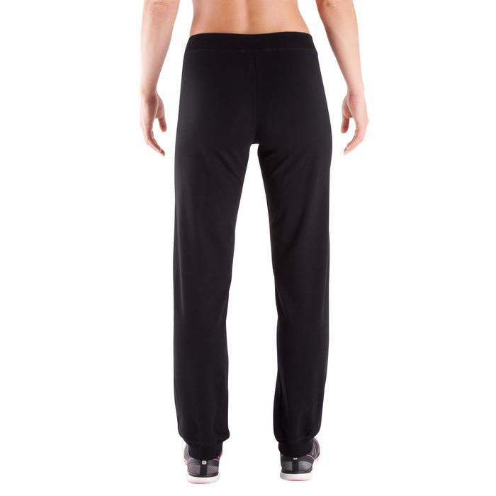Pantalon bas resserré FIT+ regular, fitness femme - 342543