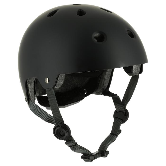 Casque roller skateboard trottinette PLAY 5 noir