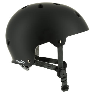 Casco de roller skateboard patineta PLAY 5 negro