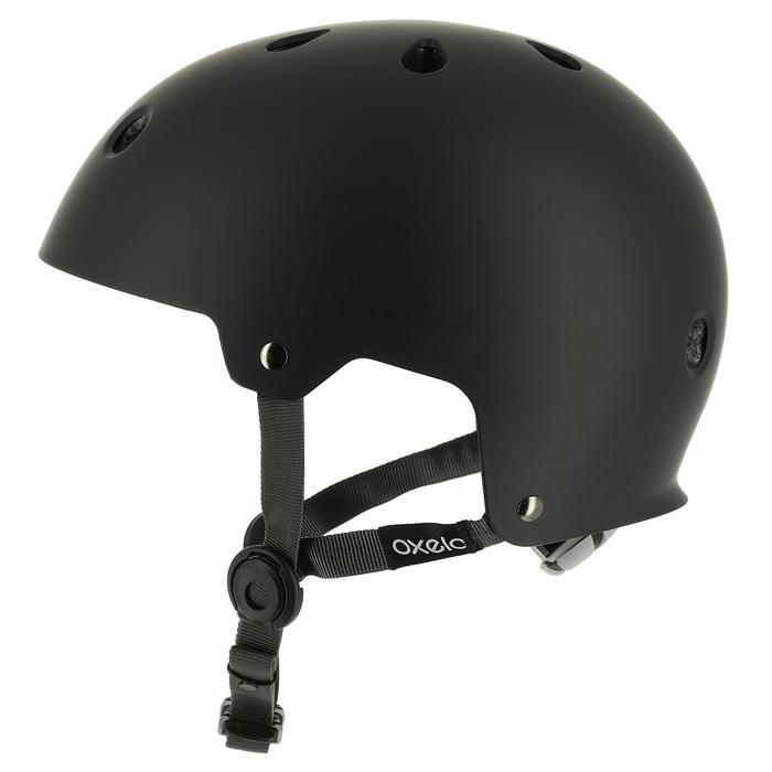 Casco de roller skateboard patinete PLAY 5 negro
