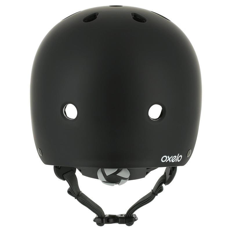 Casco de patines, skateboard y scooter PLAY 5 negro