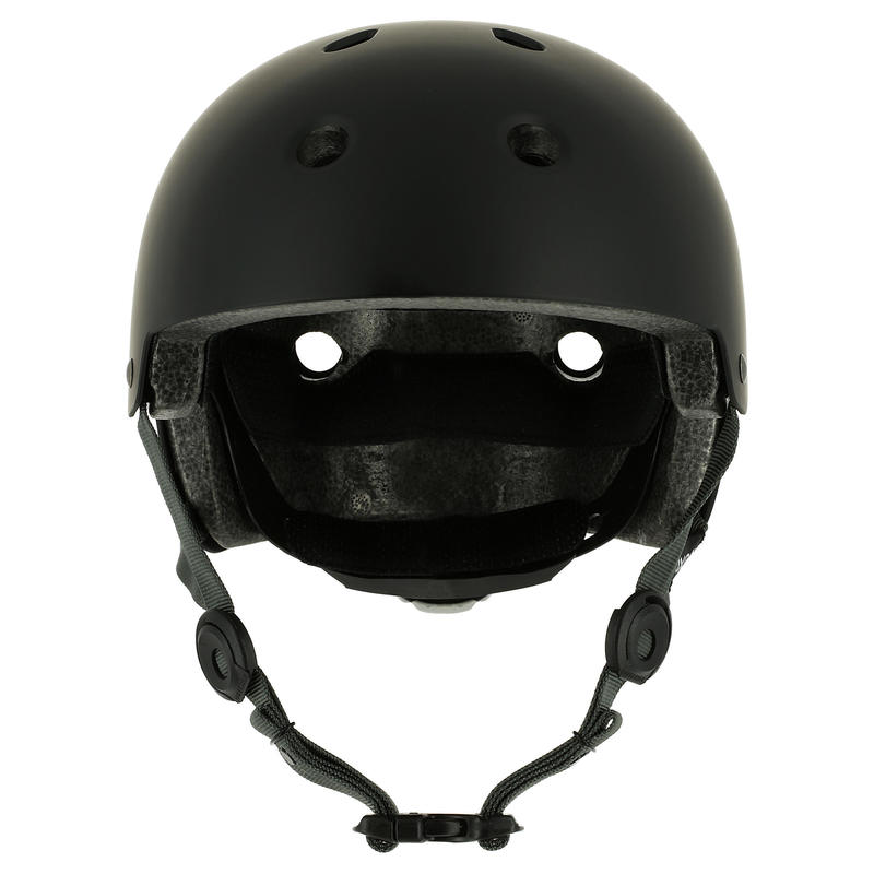 Casco de patines, skateboard y scooter PLAY 5 negro