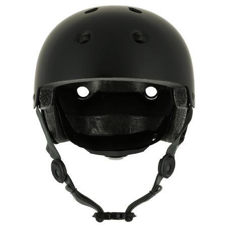Play 5 Skateboard, Scooter, Skating Helmet - Black