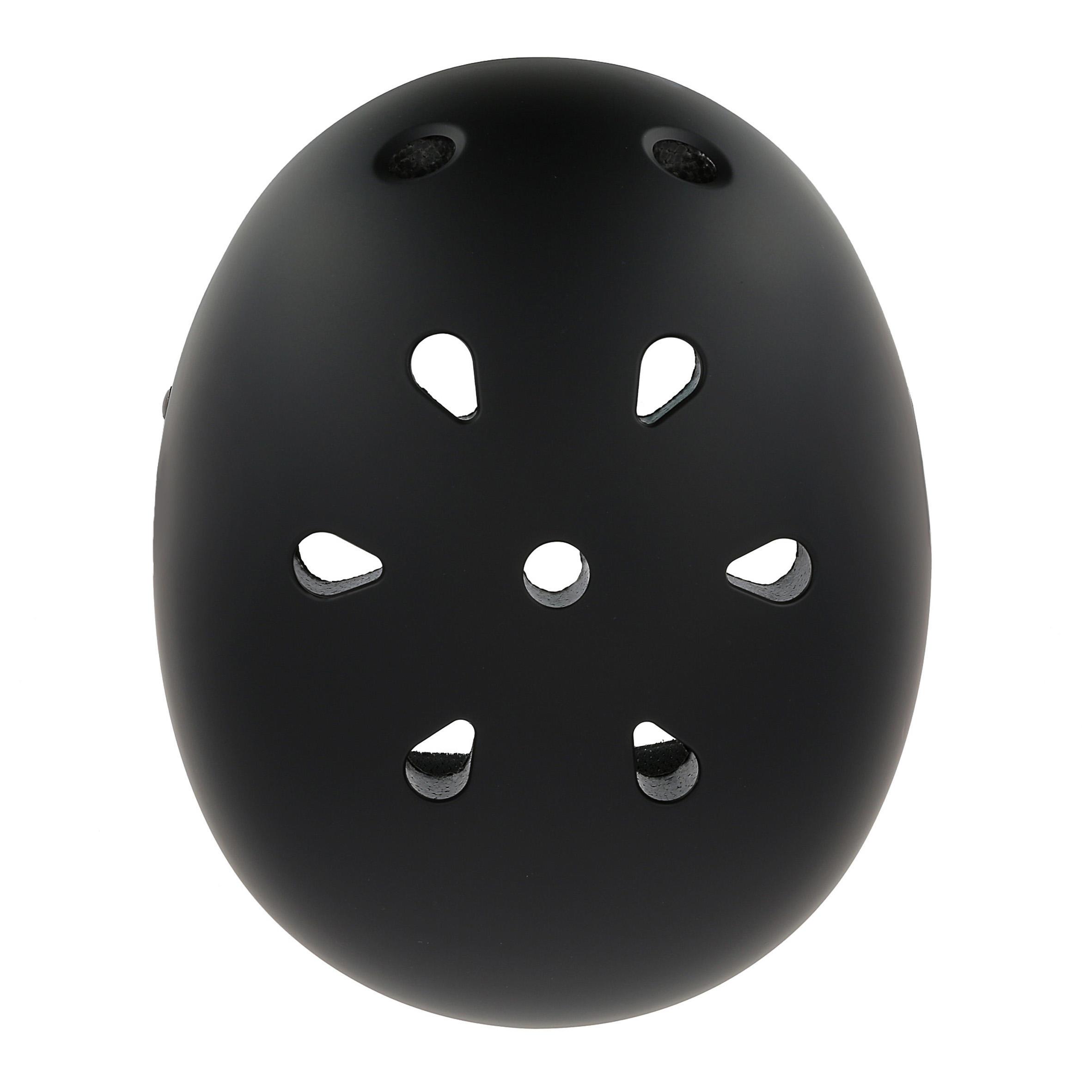 Casque patins à roulettes, planche à roulettes, trottinette, vélo PLAY 5 noir