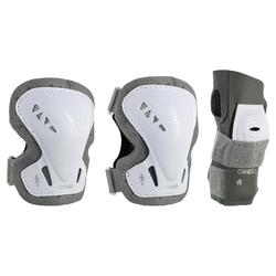 Set 3 protections roller skate trottinette adulte FIT 3