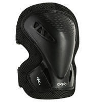 Fit 3 Adult Inline Skating Skateboarding & Scootering Protections 3-Pack - Black