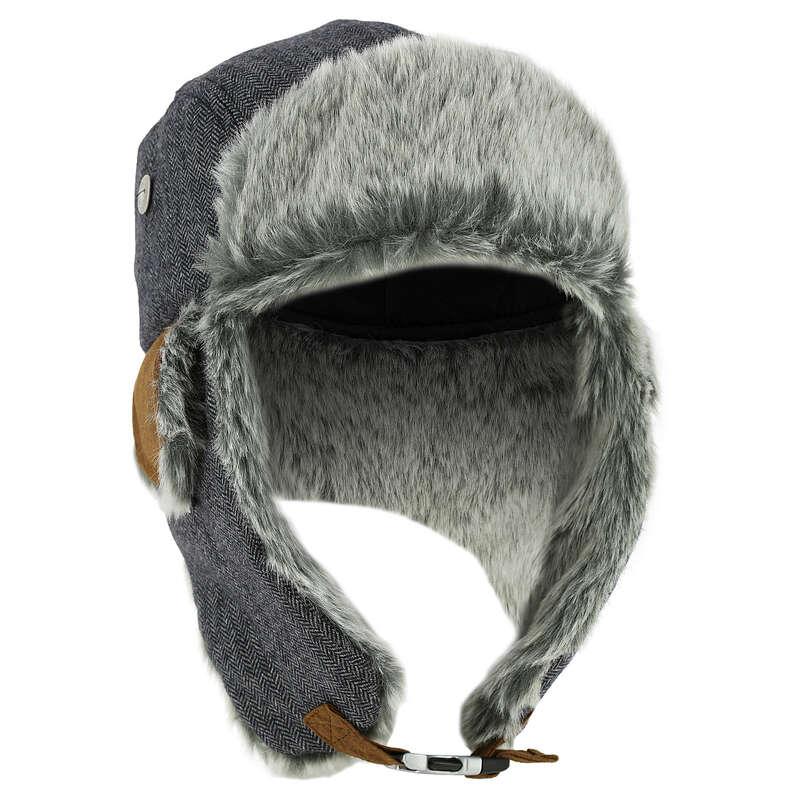 CAPPELLI SCI ADULTO Sport di Montagna - Chapka uomo CRUISING 1008 grigio WEDZE - Trekking donna