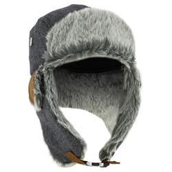 Chapka Cruising Fur voor skiën grijs