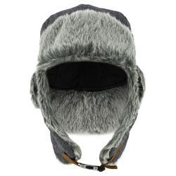 Chapka ski volwassenen Cruising Fur grijs