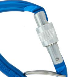 HMS Screwgate + BLC Karabiner - Goliath Blue