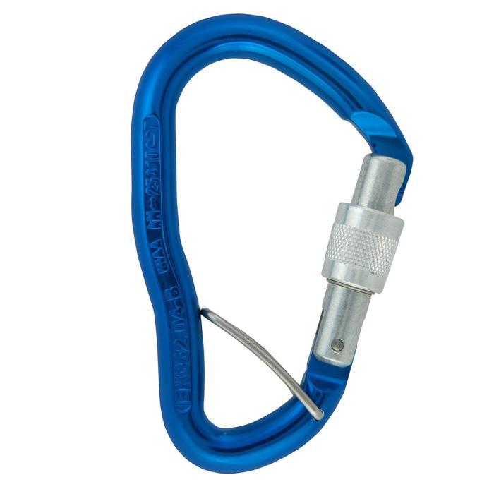 有鎖鉤環GOLIATH HMS + BLC-藍色