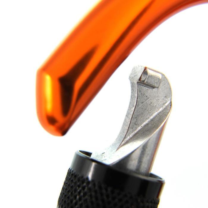 攀岩及登山用螺絲鎖鉤環Spider HMS–橘色